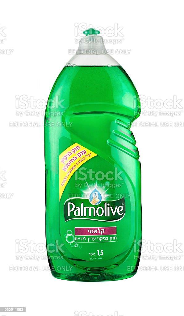 Palmolive Dish Soap 1,5L stock photo