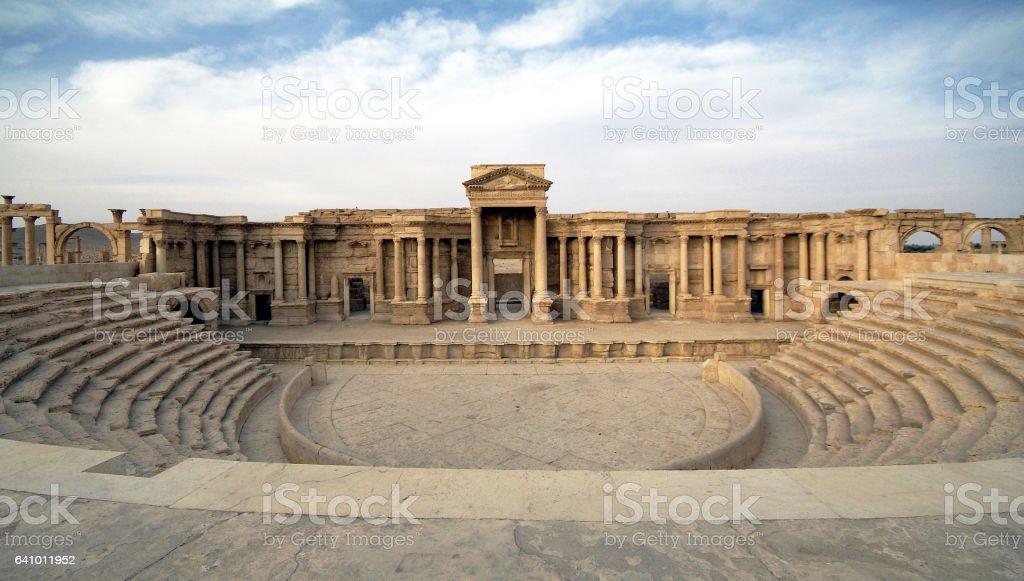 Palmyra 22 stock photo