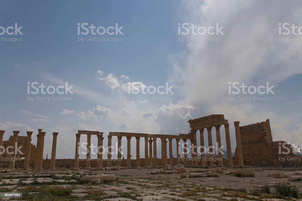 Palmyra Syria stock photo