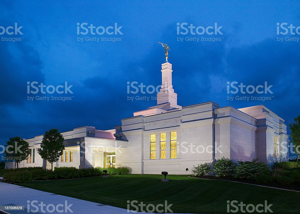 Palmyra Temple stock photo