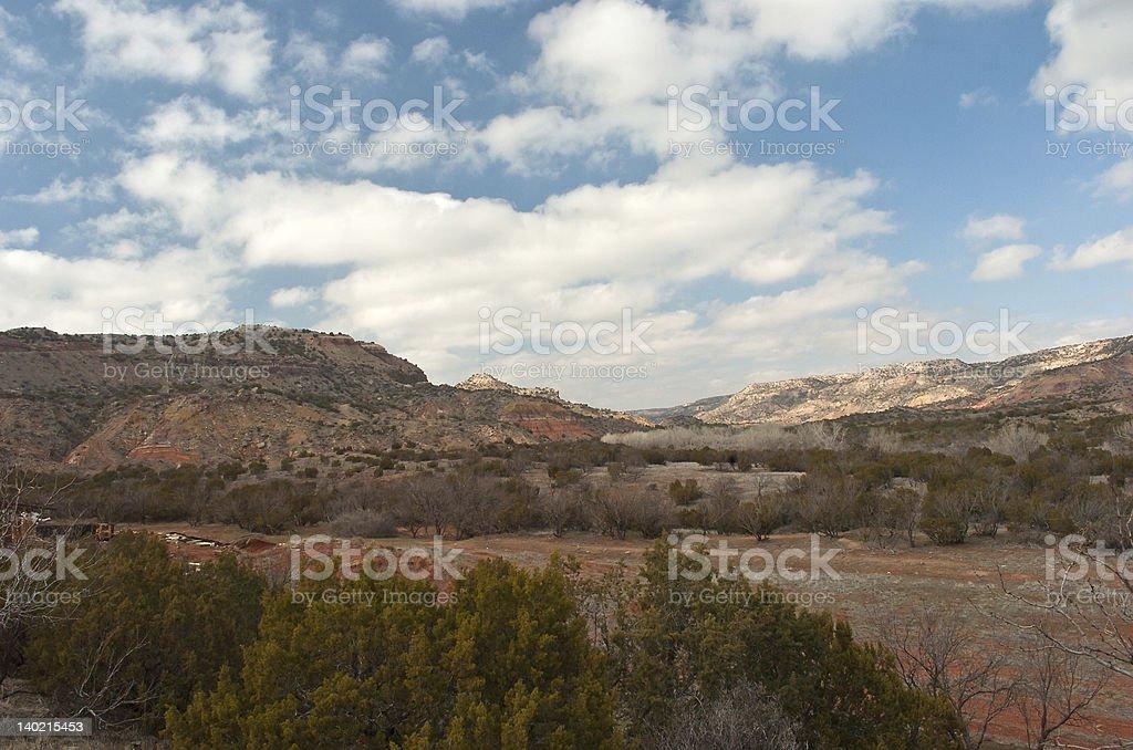 パロデュロキャニオンの風景 ロイヤリティフリーストックフォト