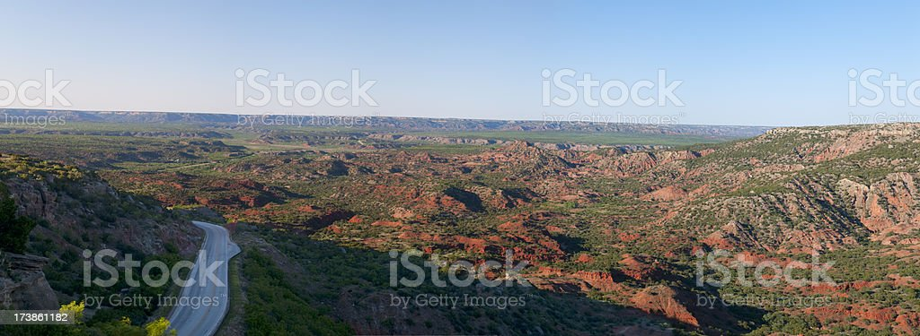 Palo Duro Canyon royalty-free stock photo