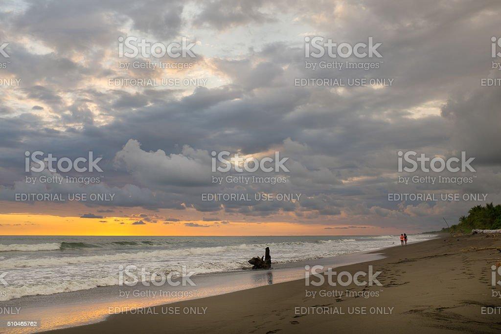 Palo Seco Beach, Costa Rica stock photo