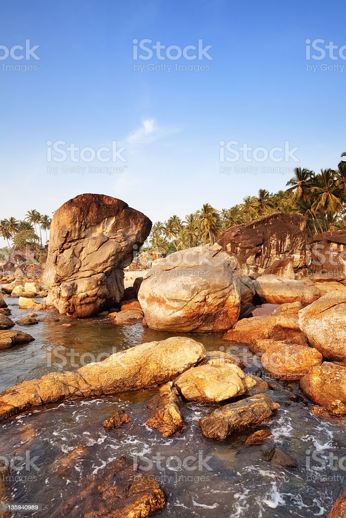 Palolem - Goa royalty-free stock photo