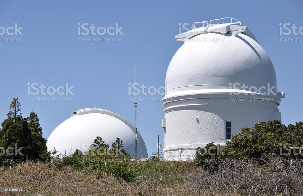 Palomar Mountain Observatory stock photo