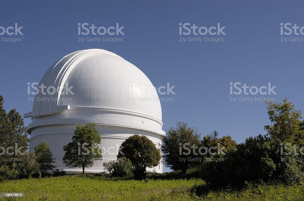 Palomar Mountain Observatory - San Diego stock photo
