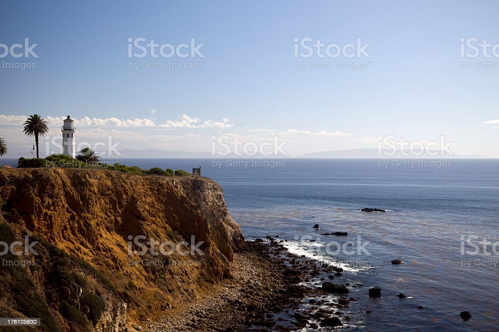 Palos Verdes California stock photo