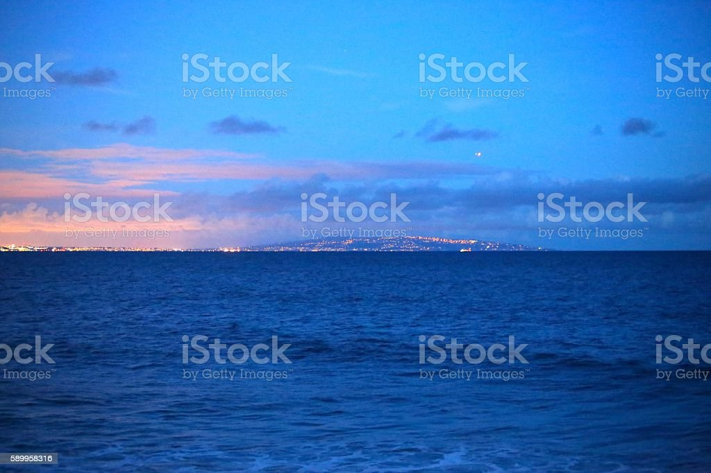 Palos Verdes, California stock photo