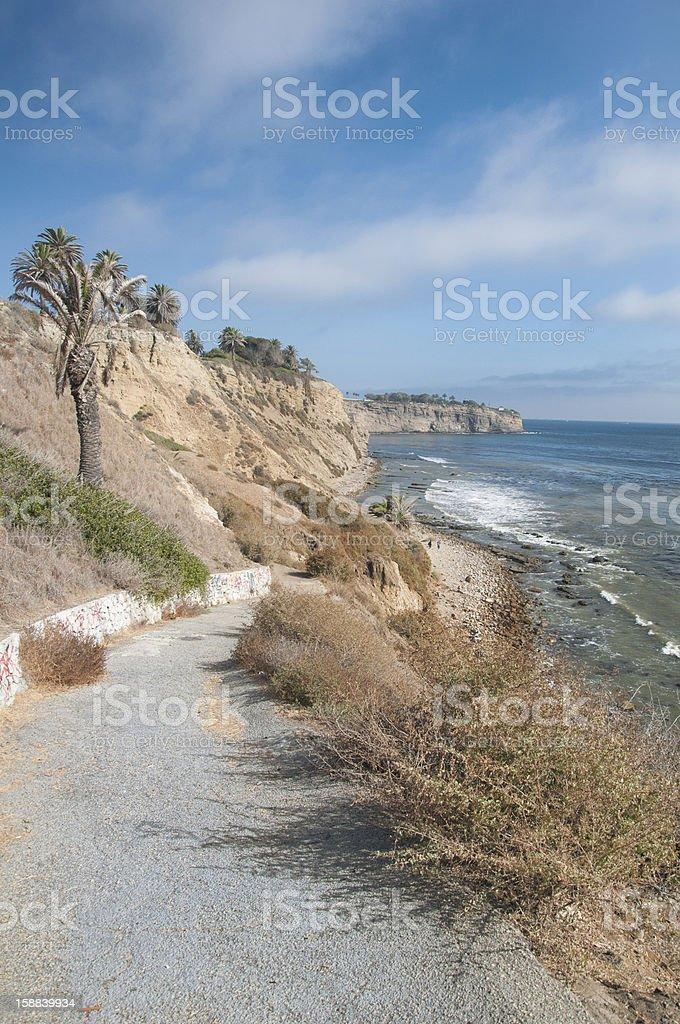 Palos Verdes Coast royalty-free stock photo