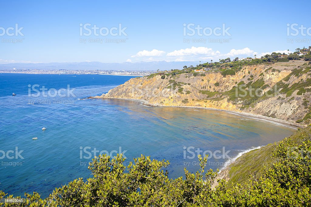Palos Verdes Peninsula stock photo