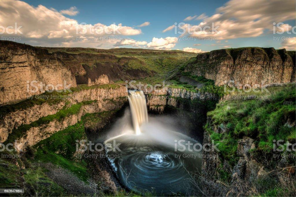 Palouse Falls, WA stock photo