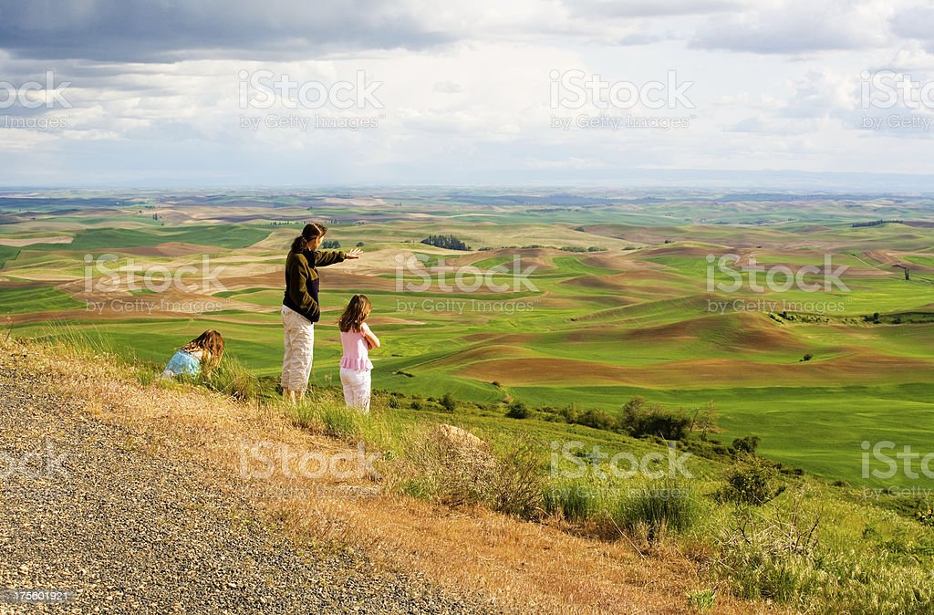 Palouse View royalty-free stock photo