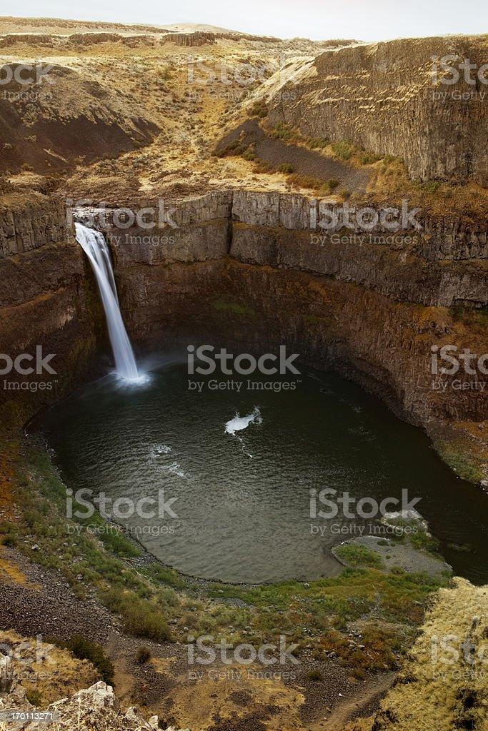 Paluose Falls royalty-free stock photo