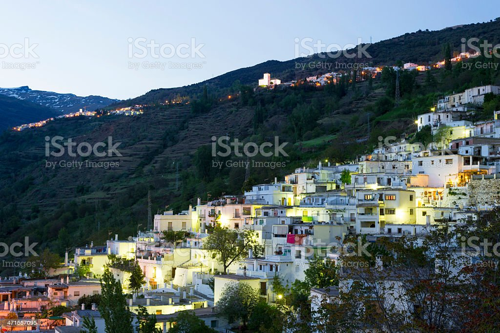 Pampaneira, Alpujarras, Spain stock photo
