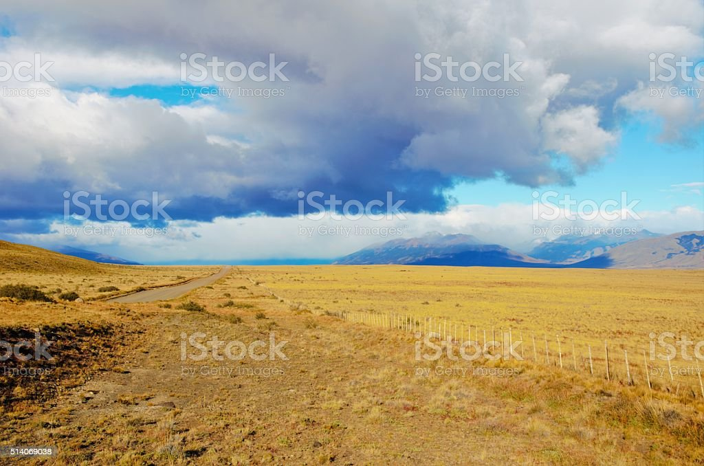 Pampas of Argentina stock photo