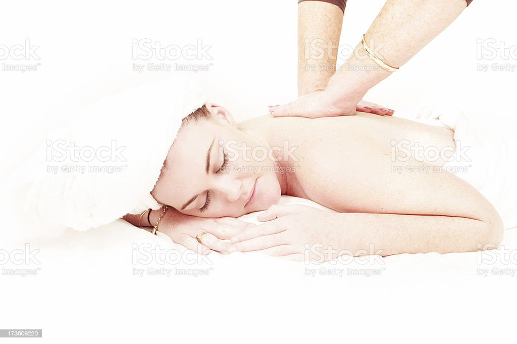 Pampering Luxury royalty-free stock photo