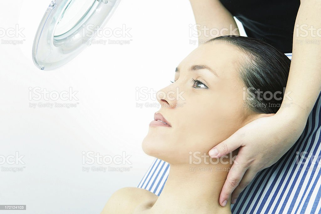 Pampering royalty-free stock photo