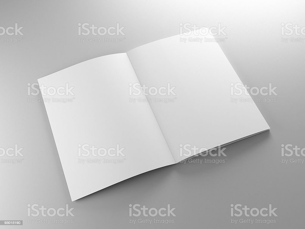 pamphlet template royalty-free stock photo