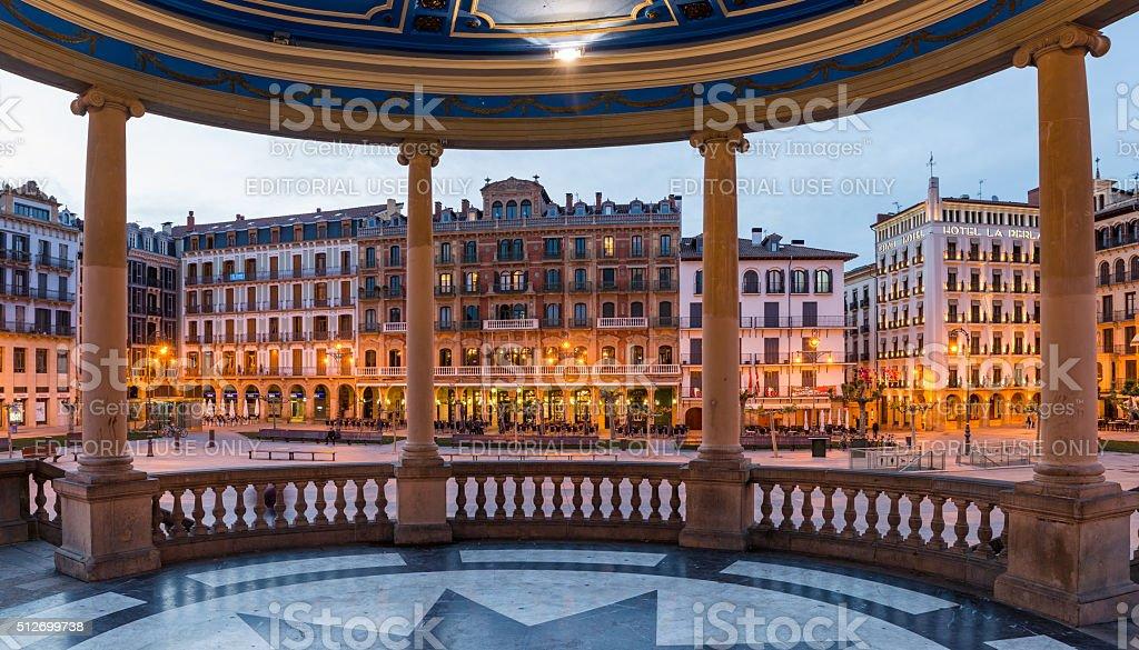 Pamplona, Spain stock photo