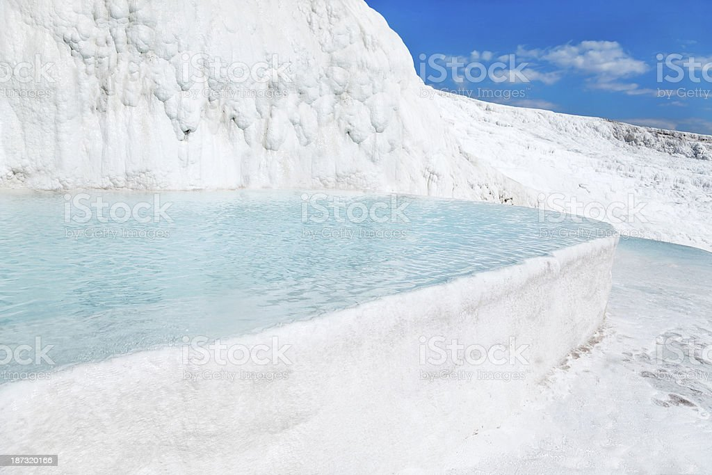 Pamukkale basins - Stock Image royalty-free stock photo