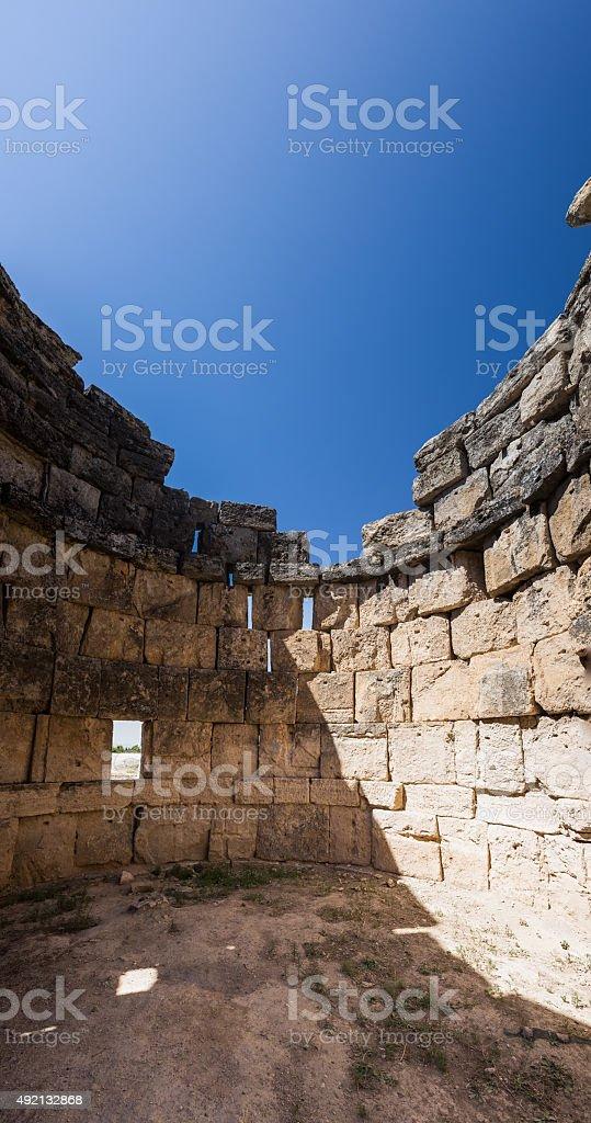 Pamukkale Hierapolis stock photo