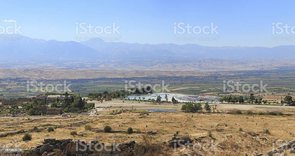 Pamukkale-Hierapolis stock photo