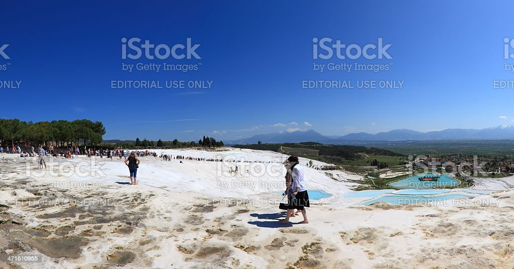 Pamukkale-Hierapolis royalty-free stock photo