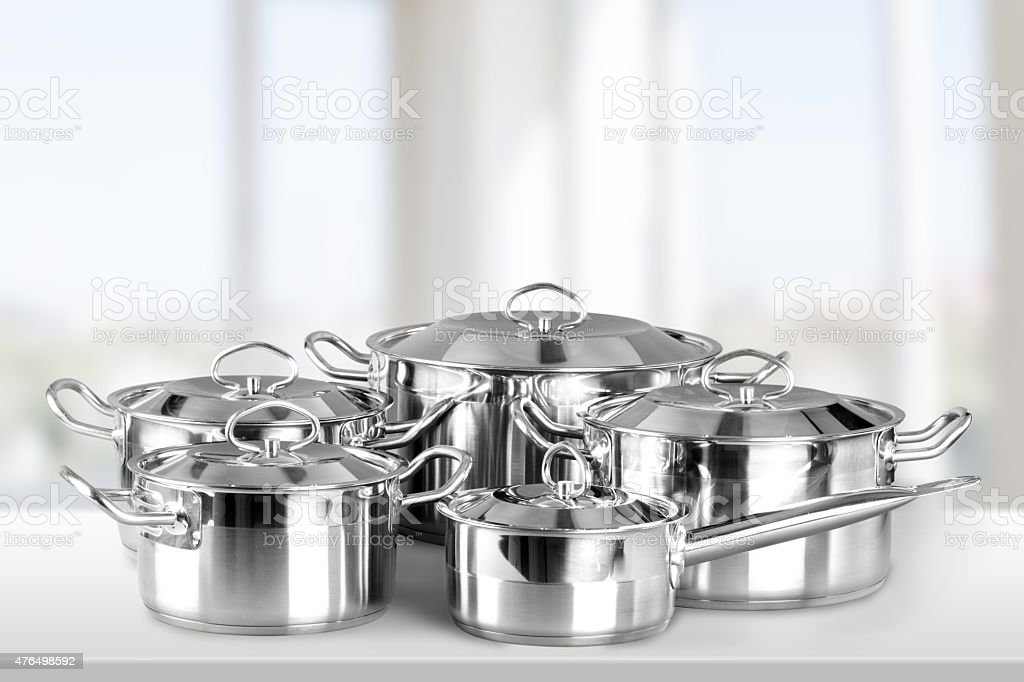 Pan, Kitchenware Department, Saucepan stock photo