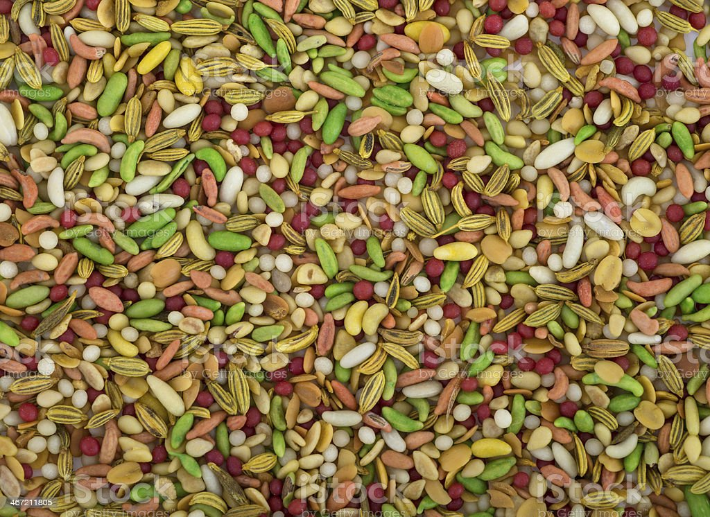 Pan Mukhwas mixed seeds from india royalty-free stock photo