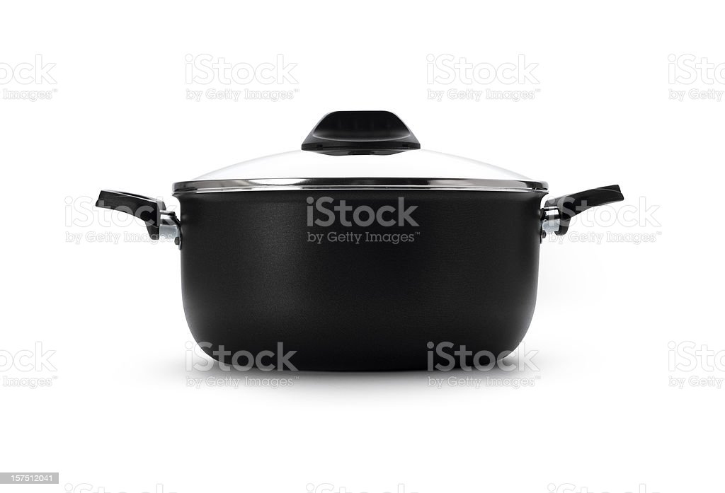 Pan with clipping path royalty-free stock photo