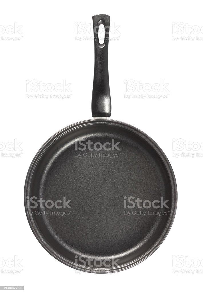 Pan with teflon cover stock photo