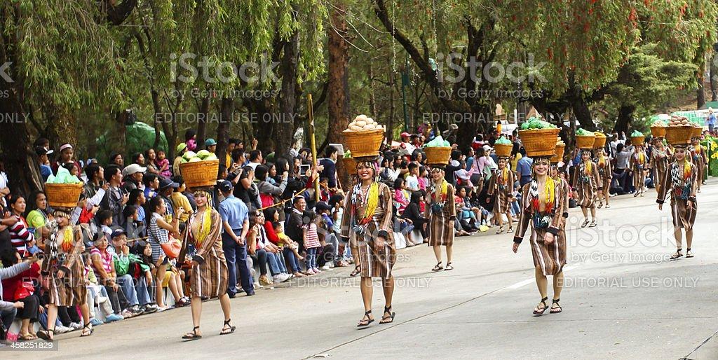 Panagbenga Festival royalty-free stock photo