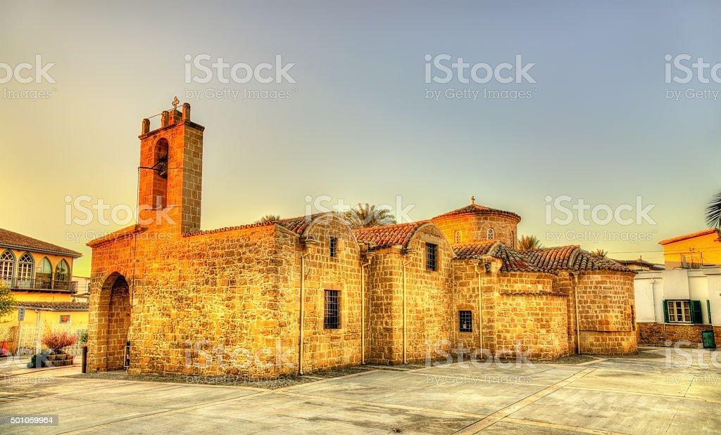 Panagia Chrysaliniotissa Church in Nicosia - Cyprus stock photo