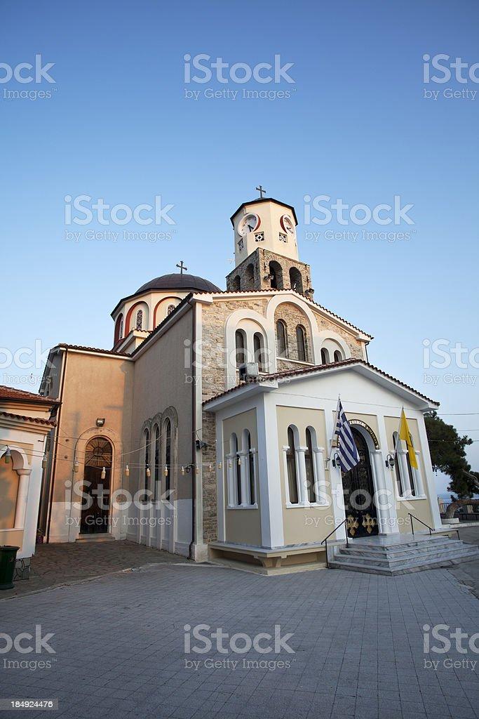 Panagia Odigitria Orthodox Church royalty-free stock photo