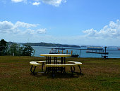 panama canal from colon city, travel, tourism, business,