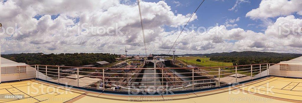 Panama Canal royalty-free stock photo