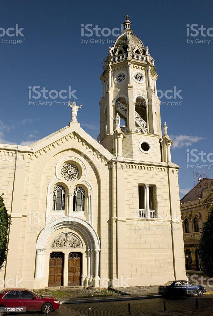 Panama Cathedral stock photo