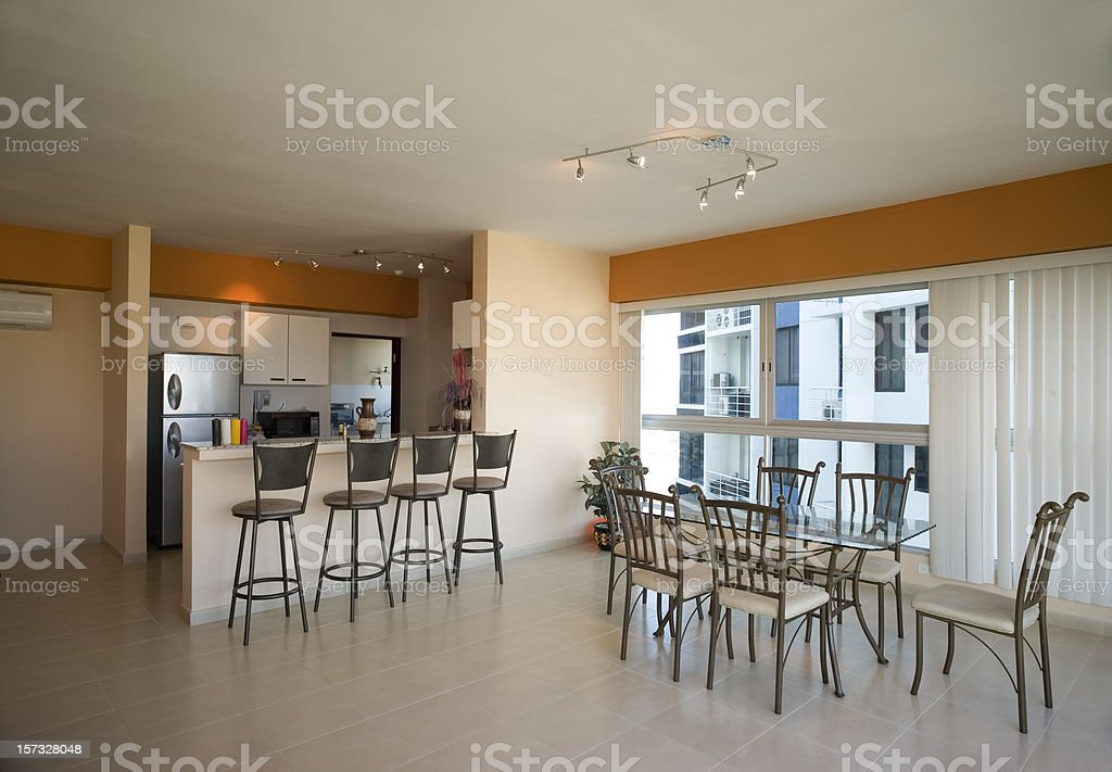 Panama City Condo interior royalty-free stock photo