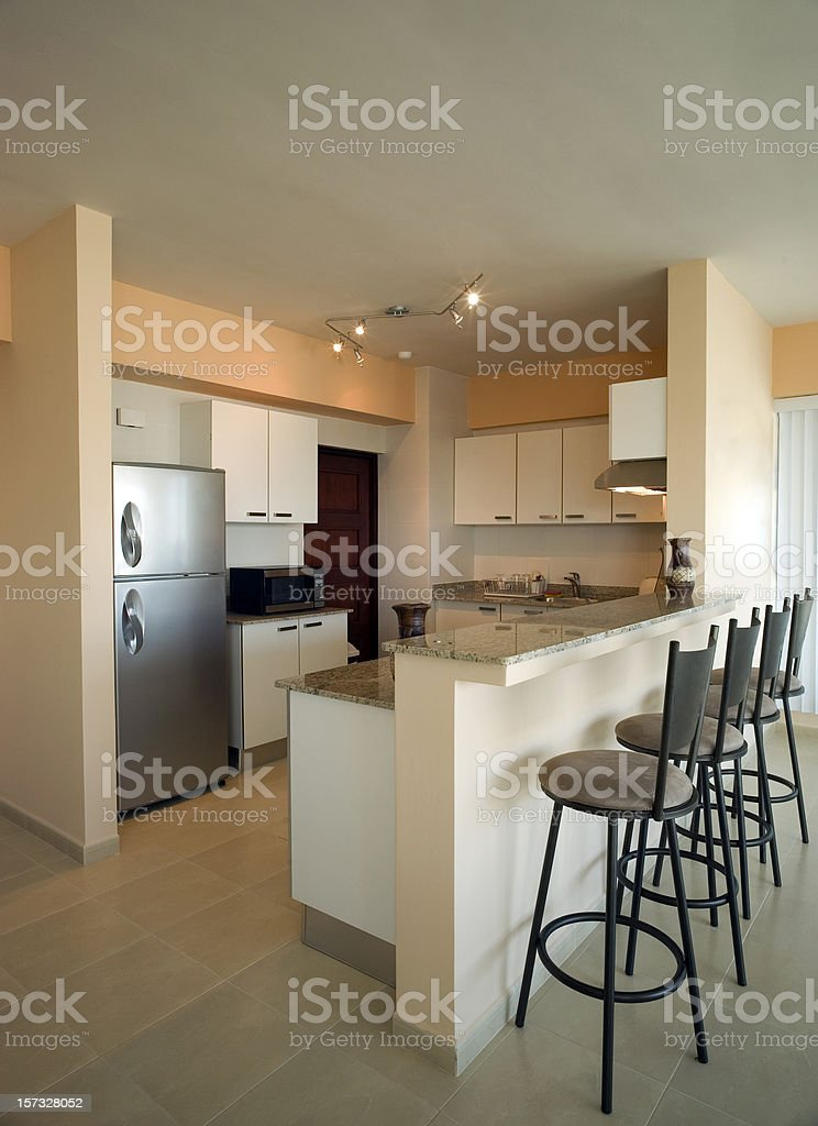 Panama City condo Kitchen stock photo