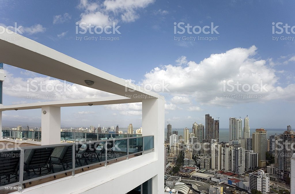 Panama City Condos stock photo