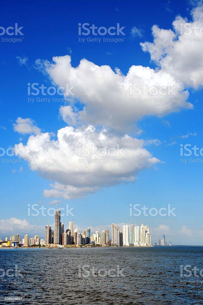 Panama City - skyline stock photo