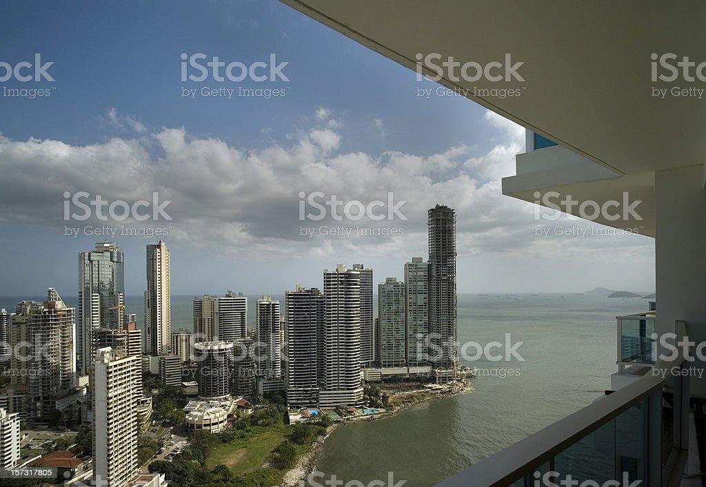 Panama City view royalty-free stock photo