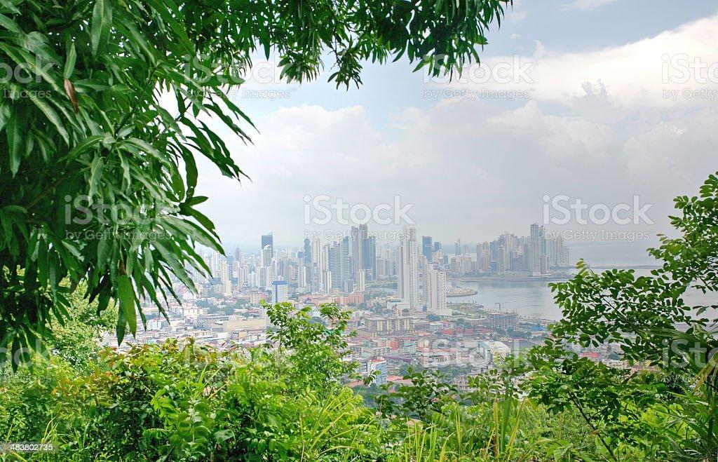 Panama cityl royalty-free stock photo