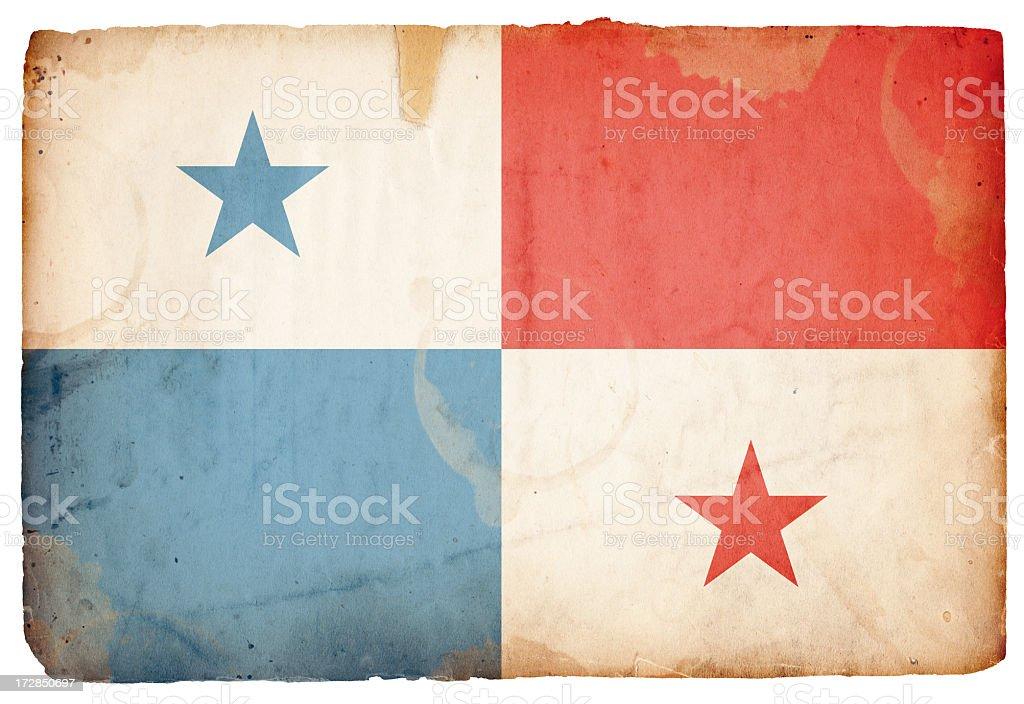 Panama Flag XXXL royalty-free stock photo