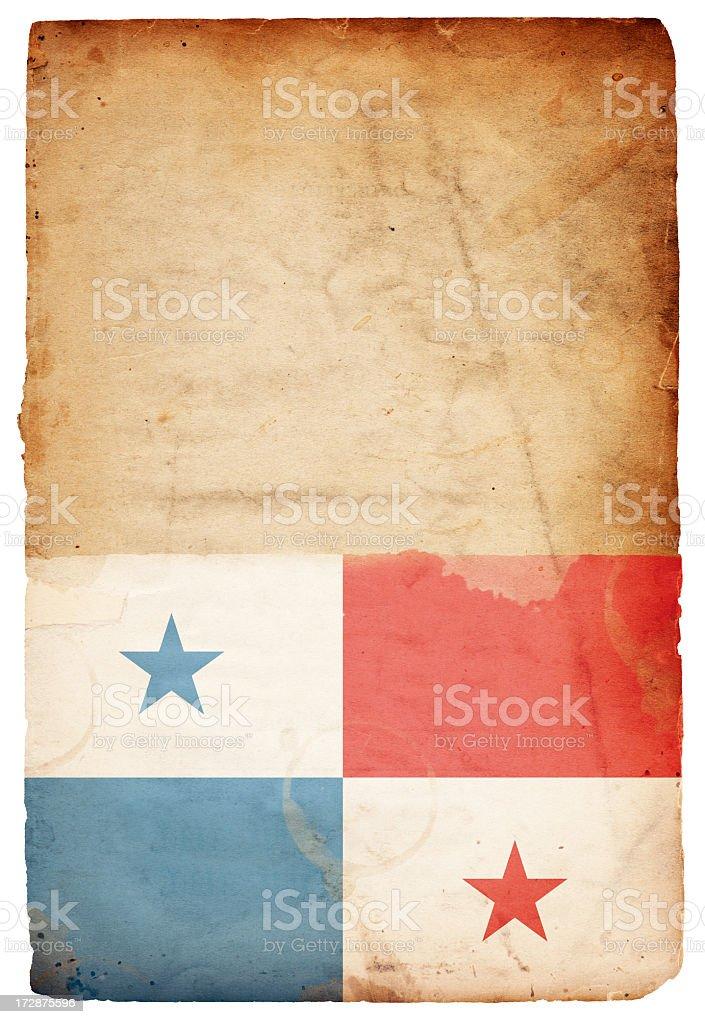 Panama Flag XXXL stock photo