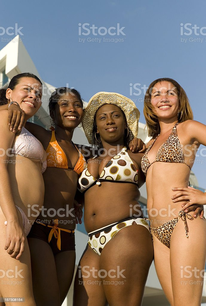 Panama girls royalty-free stock photo