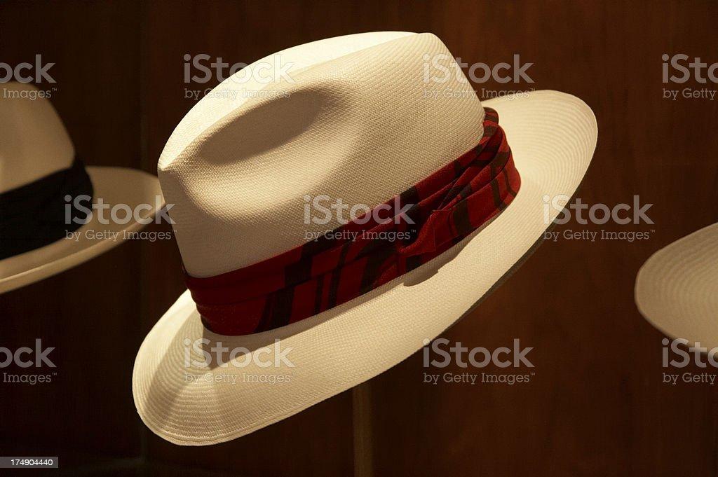 Panama hat royalty-free stock photo