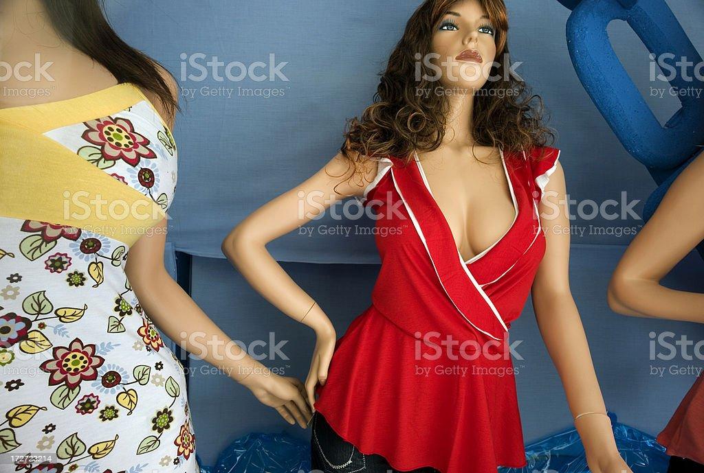 Panama Mannequins royalty-free stock photo