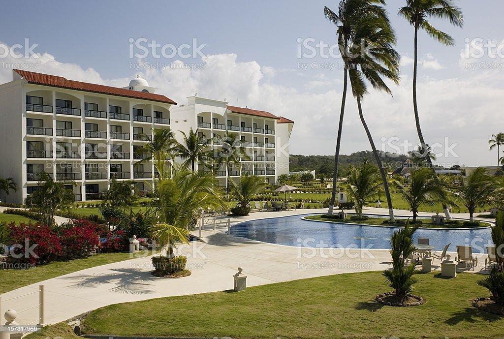 Panama Resort royalty-free stock photo