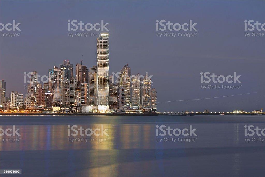 Panama Skyline - Paitilla - Punta Pacifica stock photo